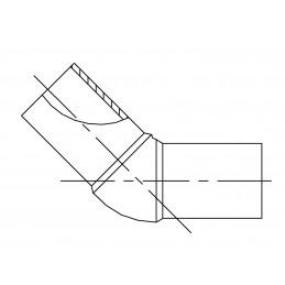 Kolano PE 100 45° SDR 11